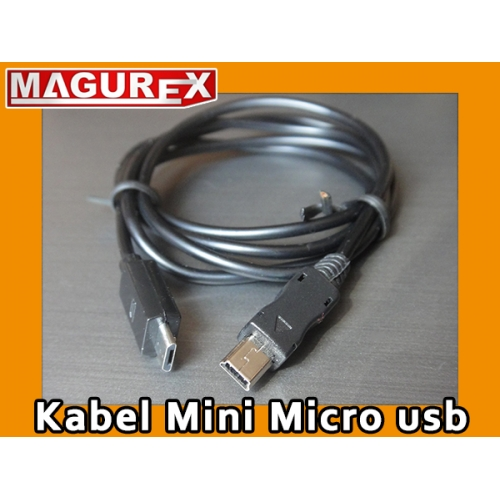 Kabel Mini USB ---- Micro USB 1,5m HB100